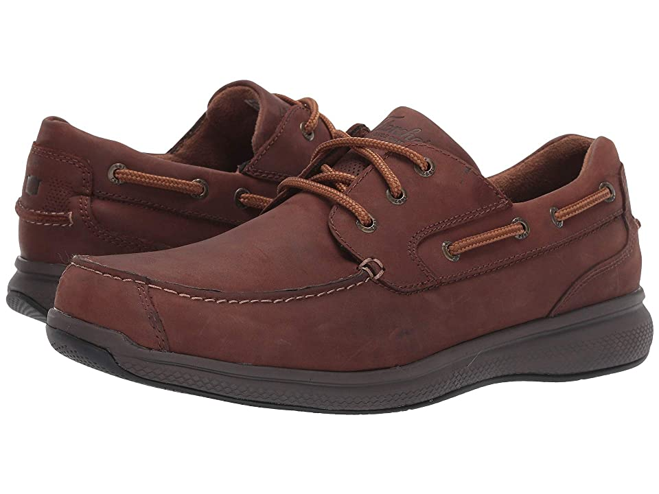 Florsheim Work Bayside Steel Toe Lace-Up (Brown) Men