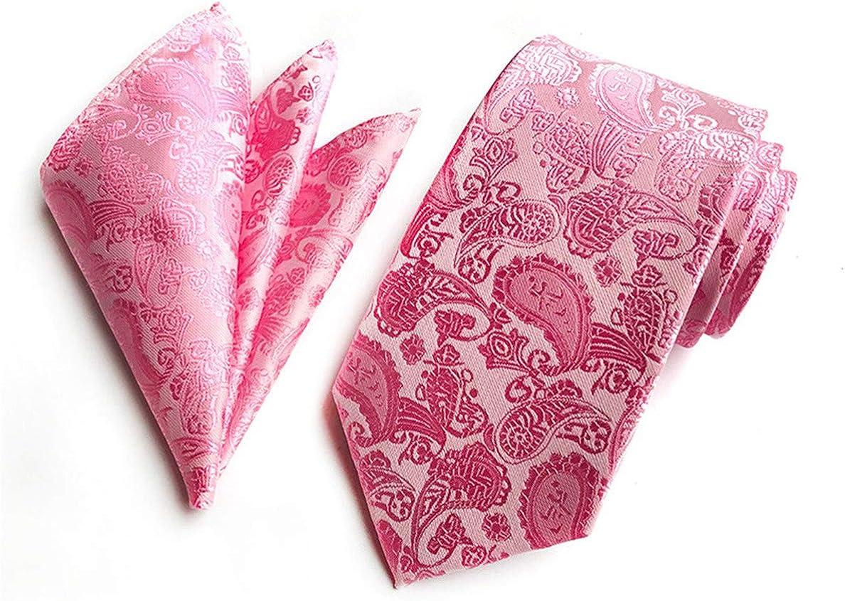 Ylanlan Mens Ties 4pcs Tie set : Tie sets : Necktie,Bow tie,Pocket Square, Cuffs link
