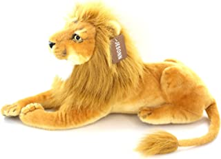 """Jesonn Realistic Giant Stuffed Animals Plush Toy Lion Beige for Kids' Gifts,22.5"""" or 57CM,1PC"""