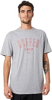Huffer Men's Hfr League Mens Tee Short Sleeve Cotton Grey