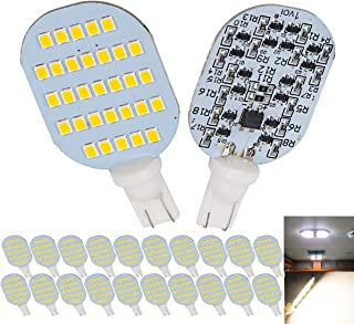 1voi Super Bright T10 921 194 LED Bulbs 31-SMD for RV Indoor Lights Natural White Pack of 20