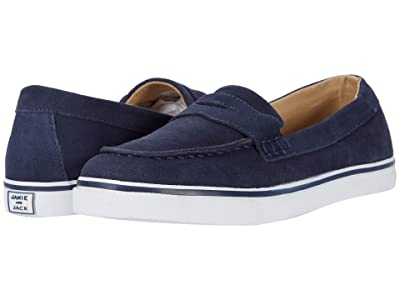 Janie and Jack Loafer Sneaker (Toddler/Little Kid/Big Kid) (Navy) Boy