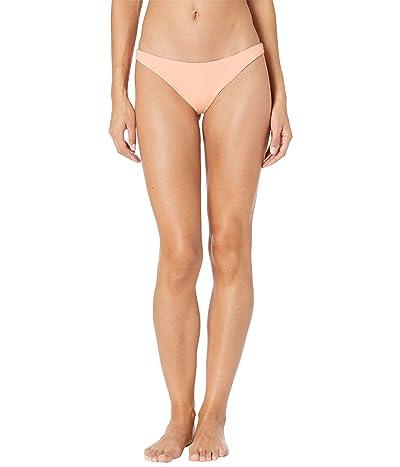 Billabong Sol Searcher Tanga Bikini Bottoms (Sun Peach) Women
