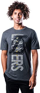 Ultra Game NBA Men's Upright Logo Short Sleeve Tee Shirt