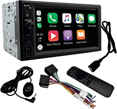 $189 » LEADSIGN CT-6200 Double Din Car Stereo Wireless Digital Media Receiver with Apple CarPlay,Android Auto,Built-in Bluetooth,...