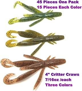 Wtrees #2710 Best Fishing Soft Baits Kits Plastic