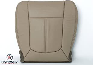 Richmond Auto Upholstery: Compatible with 2011-2014 Ford F-250 F-350 Lariat Perforated Leather Seat Cover: Driver Bottom, Tan