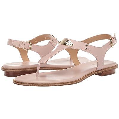 MICHAEL Michael Kors MK Plate Thong (Soft Pink) Women
