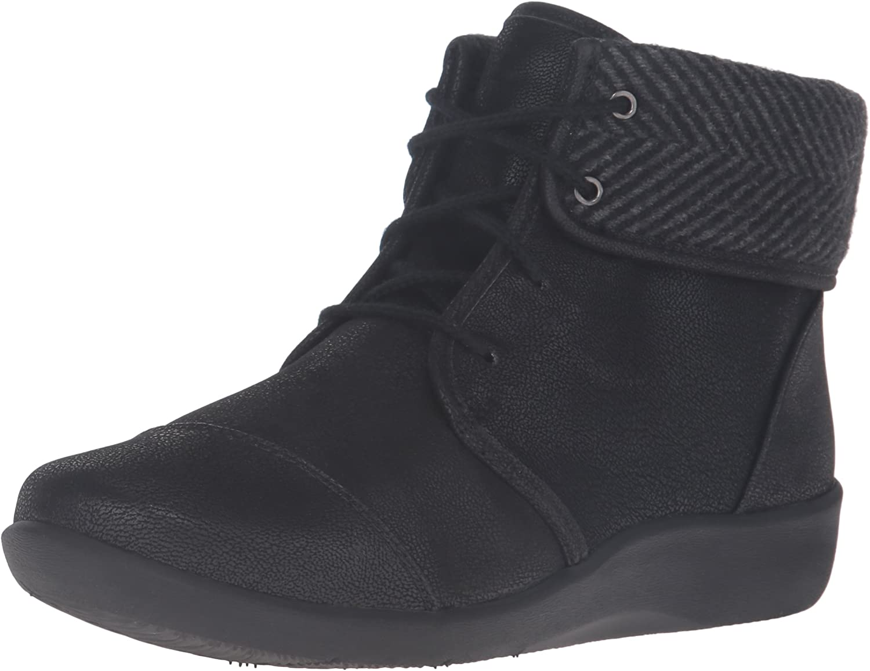 CLARKS CLARKS Woherren Sillian Frey Stiefel, schwarz Synthetic Nubuck, 8.5 W US  Factory Outlet Online-Rabatt-Verkauf
