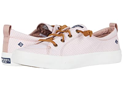 Sperry Crest Vibe Mini Check (Coral/White) Women