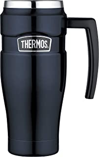 Thermos Stainless King Vacuum Insulated Travel Mug, 470ml, Midnight Blue, SK1000MB4AUS