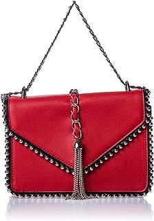 حقائب كتف للنساء، أحمر