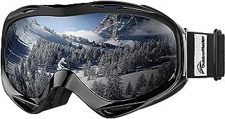 عینک های اسکی OutdoorMaster OTG - عینک مخصوص اسکی / اسنوبرد برای مردان ، زنان و جوانان - 100٪ محافظت در برابر اشعه ماوراء بنفش