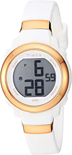 ساعة Timex النسائية DGTL أرقام مكدسة 28 مم