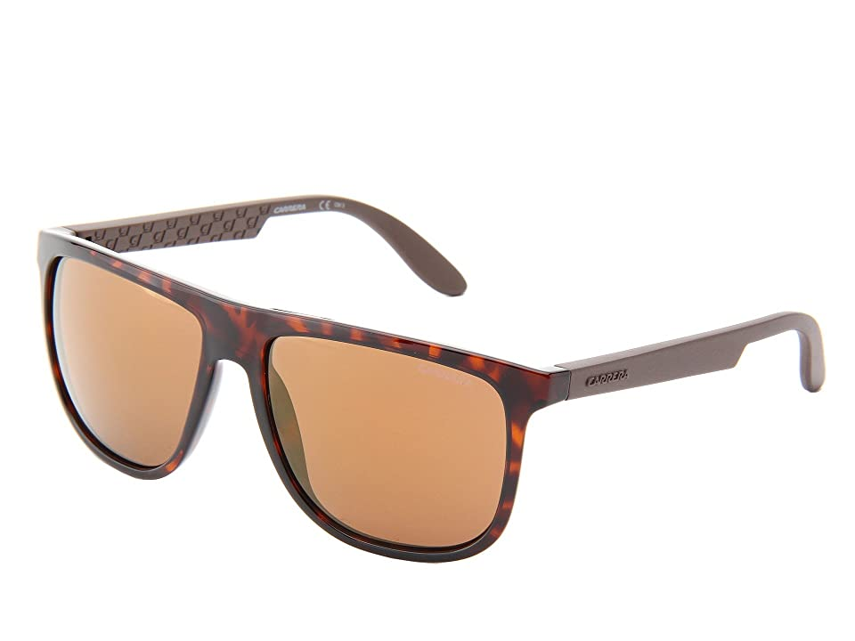 Carrera Carrera 5003/S (Havana/Dark Brown/Flash Gradient) Plastic Frame Fashion Sunglasses