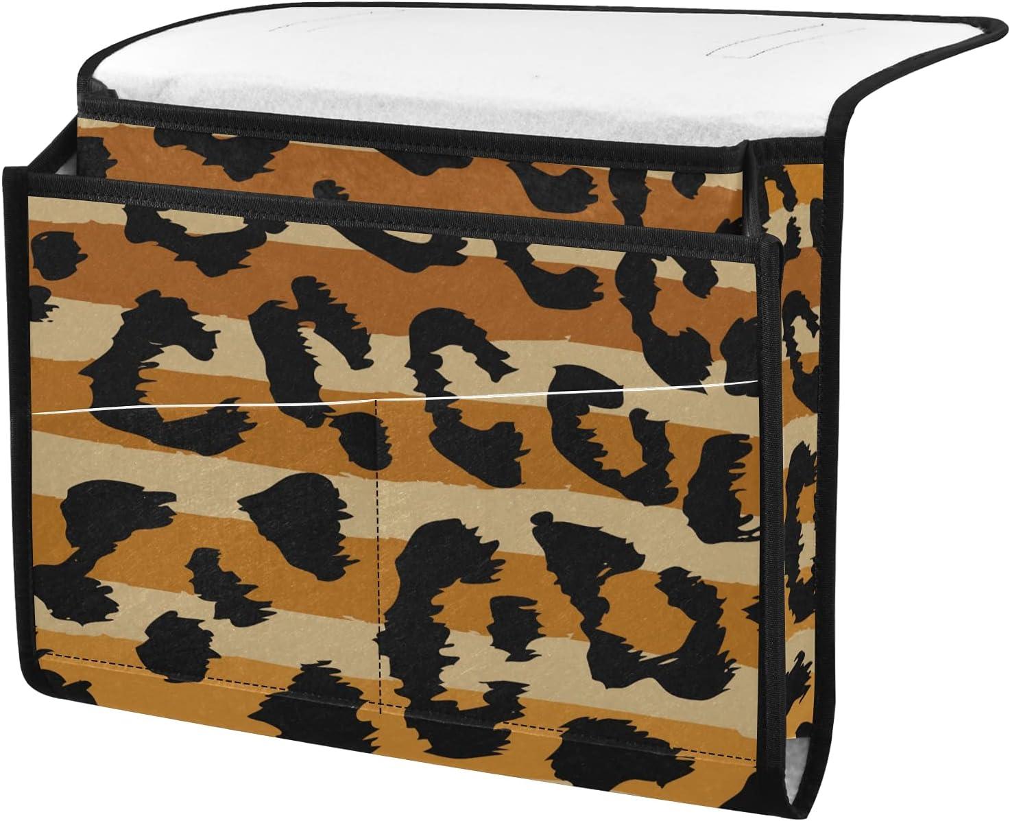 All items free shipping senya Leopard Stripes Pattern Design B Organizer New Shipping Free Shipping Storage Bedside