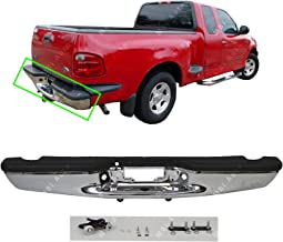 MBI AUTO - Chrome, Steel Rear Step Bumper Assembly for 1997-2004 Ford F150 Pickup 97-04, FO1103103
