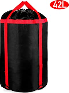 BOIROS Compression Stuff Sack, Sleeping Bag Storage Sack 42L Large and Lightweight Organizer Water Resistant and Tearproof for Camping Hiking Backpacking Travelling Mountaineering Outdoor