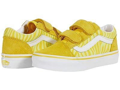 Vans Kids Old Skool V (Little Kid) ( Girls Shoes