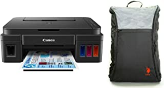 Canon Pixma G3000 All-in-One Wireless Ink Tank Colour Printer with Free Bag