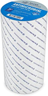 """Silver Defender Tape, 7"""" x 20' Perforated Tape, Antimicrobial Protected Film, Self-Cleaning Protection, Silver Ions, Remov..."""