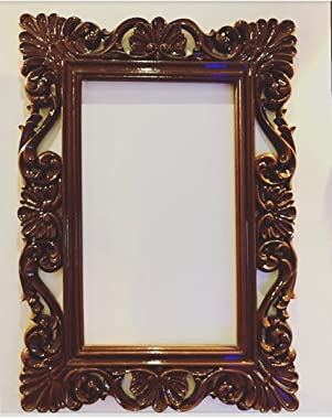 Beautiful Wooden Mirror Frame with Extraordinary Hand Carving