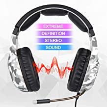 SADES PS4 Gaming Kopfhörer SA818 3,5 mm verkabelt Over-Ear Noise Canceling Gaming..