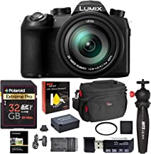 Panasonic Lumix FZ1000 II 20.1MP Digital Camera, 16x 25-400mm Leica DC Lens Point and Shoot Camera with Memory Card, Bag, Spare Battery and More