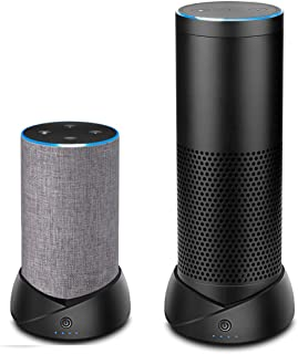 Portable Battery Base Compatible for Amazon Echo (2nd Generation) and Echo Plus(1st Generation),Battery Base Makes Them Portable,Not for Echo Plus (2nd Generation)