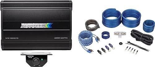 Best autotek mean machine 4000 watt amp Reviews