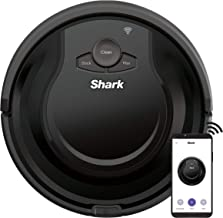 Shark ION Robot Vacuum AV751 with Wi-Fi and Voice Control, 0.45 Quarts, in Black