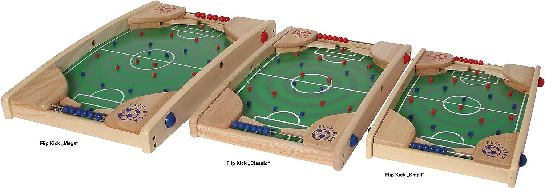 Bartl 106741 Flip Kick Deluxe, 58 cm, Flipper und Kicker, für 2 Spieler Classic