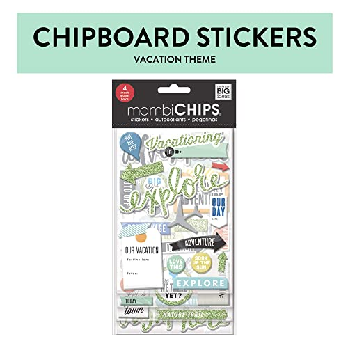 30//pkg Me /& My Big Ideas Specialty Stickers-on An Adventure