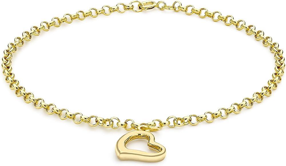 Carissima gold, braccialetto per donna in oro giallo 9k/375(0,65gr) 1.24.6571