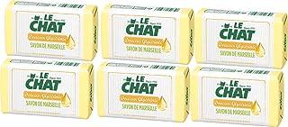 Le Chat Savon de Marseille Solide, zachte glycerine, 100 g x 6
