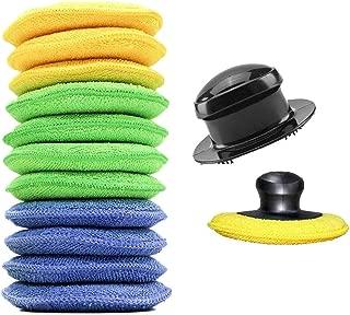 Coche Almohadillas para Cintur/ón de Seguridad C/ómodo Reposacabezas Ajustable Esponja Hombrera Evitar la Fricci/ón 6.5cm Azul 26.5