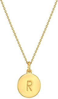 gold pendant necklace engraved