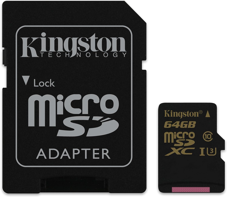 64GB G Skill microSDXC CL10 UHS-1 Tarjeta de memoria con Adaptador SD