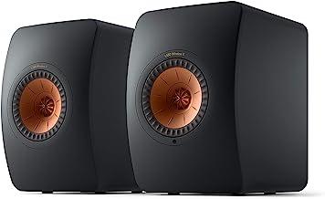 KEF LS50 Wireless II (Pair, Carbon Black)