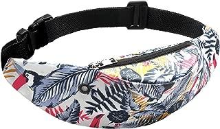 New Fashion Colorful Print Waist bag Waterproof Travel Fanny Pack Mobile Phone Waist Pack Belt Bag design,E