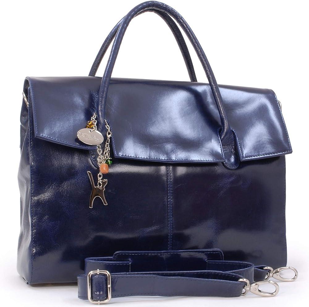Catwalk collection grande borsa a mano/ tracolla da lavoro unisex porta pc portatile 5060274970398