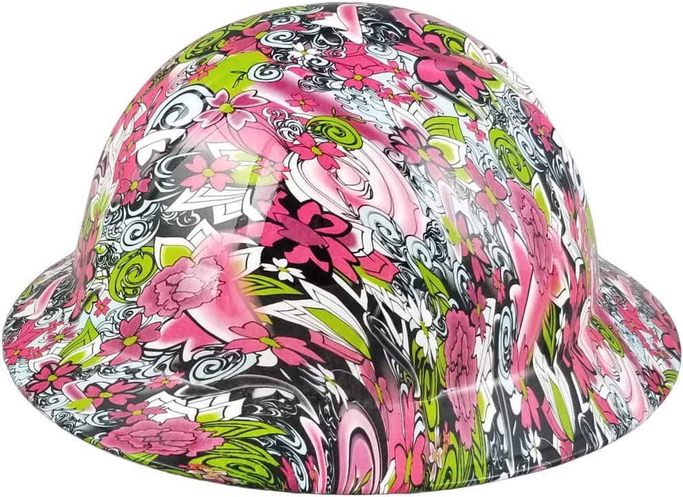 Hydrographic Full Brim Max 42% OFF Hard Hats San Diego Mall with Flora 6 - Suspension Point