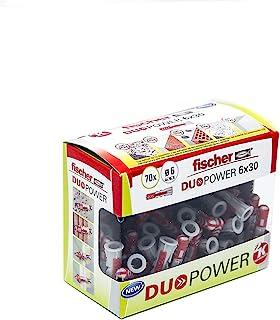 Fischer - DuoPower Plug 6 x 30 (doos van 70 eenheden), 536386
