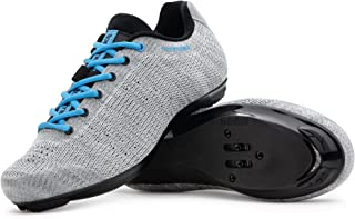 Sponsored Ad - Tommaso Pista Aria Knit Women's Indoor Cycling Class Ready Shoe and Bundle with Compatible Cleat, Look Delt...