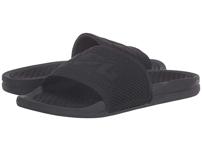 Athletic Propulsion Labs (APL)  Big Logo Techloom Slide (Black) Mens Slide Shoes
