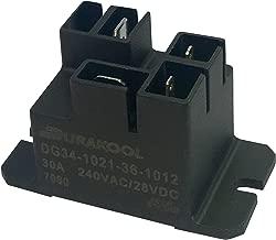 DURAKOOL DG34-1021-36-1012-F AUTOMOTIVE RELAY, SPST-NO, 12VDC, 30A