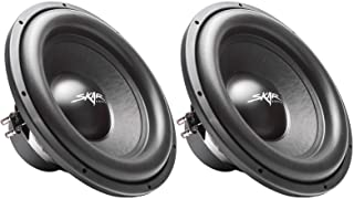 "$219 » (2) Skar Audio Sdr-15 D4 15"" 1200W Max Power Dual 4 Ohm Car Subwoofers, Pair of 2"