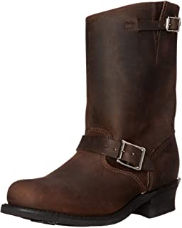 حذاء FRYE Women's Engineer 12R برقبة قصيرة، Gaucho، 11 M US