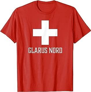 Glarus Nord, Switzerland - Swiss, Suisse Cross T-shirt