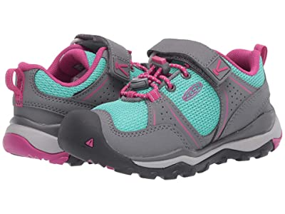 Keen Kids Terradora II Sport (Toddler/Little Kid) (Steel Grey/Very Berry) Girl